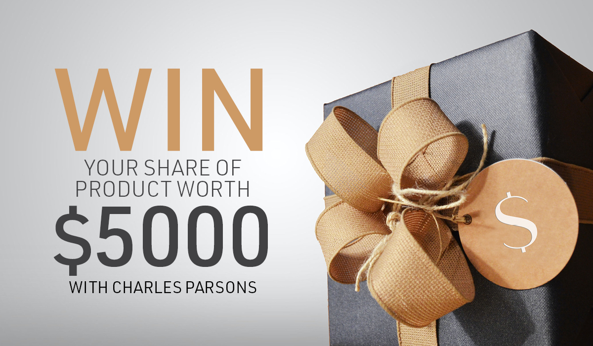 WIN YOUR SHARE OF PRODUCT WORTH $5000